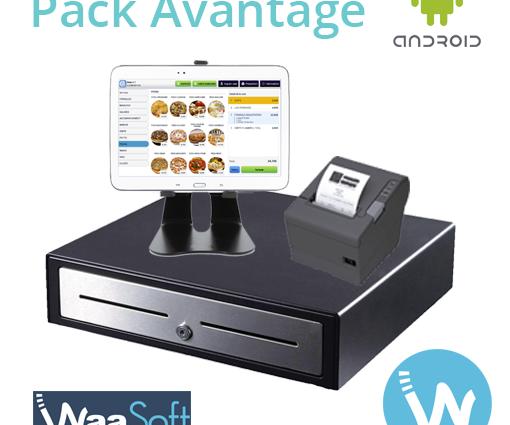 Caisse enregistreuse tactile sur tablette portable - Waapos