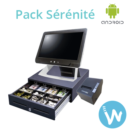 Pack caisse enregistreuse tactile - Waapos