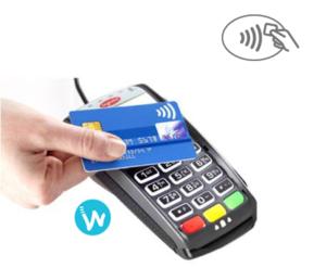 tpe sans contact et lecteur de carte bancaire ingenico ipp 310 cl