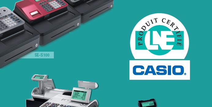 Les caisses enregistreuses Casio sont certifiées LNE pour 2018 !