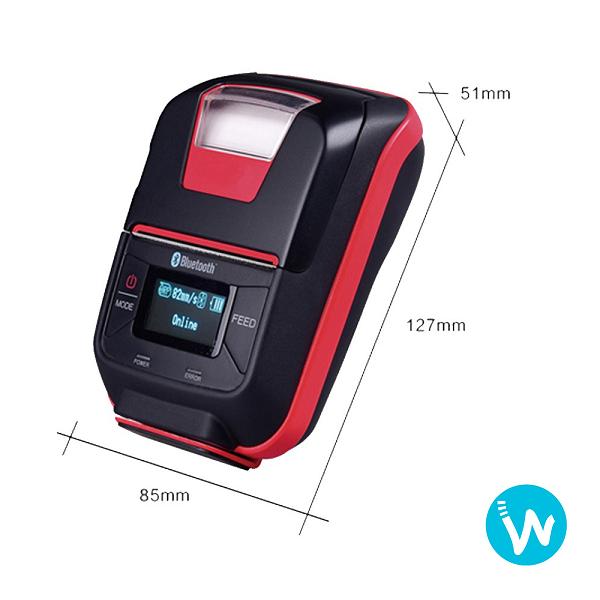 imprimante thermique portable oxhoo-TP200 2