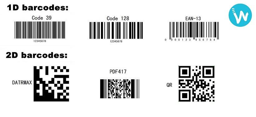 Waapos présene les différences de codes barres